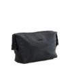 Genuine Leather Toiletry Bag Bravo Black