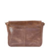 "Genuine Leather Laptop Bag Cosmos 13"" Waxy Tan"