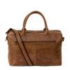 "Genuine Leather Laptop Bag Galaxy 15"" Waxy Tan"