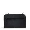 Genuine Leather Travel Wallet Ayo Black