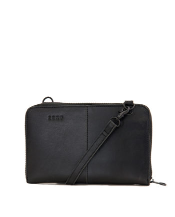 Ayo Black | Woman's Genuine Leather Wallet
