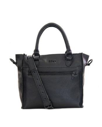 Genuine Leather Crossbody bag Bastille Black