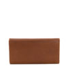 Claire Toffee Tan Genuine Leather Ladies Wallet