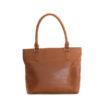 Genuine leather handbag Dubai Toffee Tan