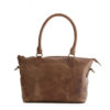 Genuine Waxy Tan Leather handbag Fiji