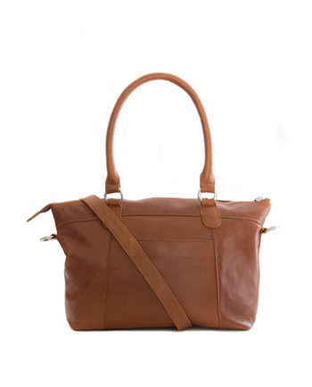 Genuine Toffee Tan Leather handbag Fiji