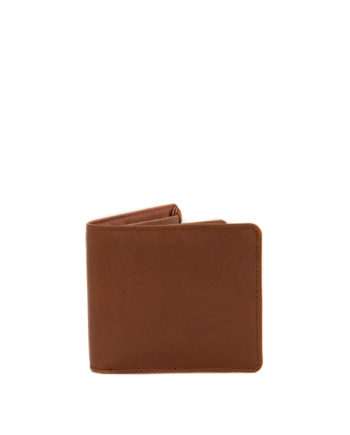 Genuine Leather Mens Wallet James Toffee Tan