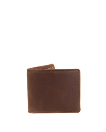 Max Waxy Tan Genuine Leather Mens Wallet