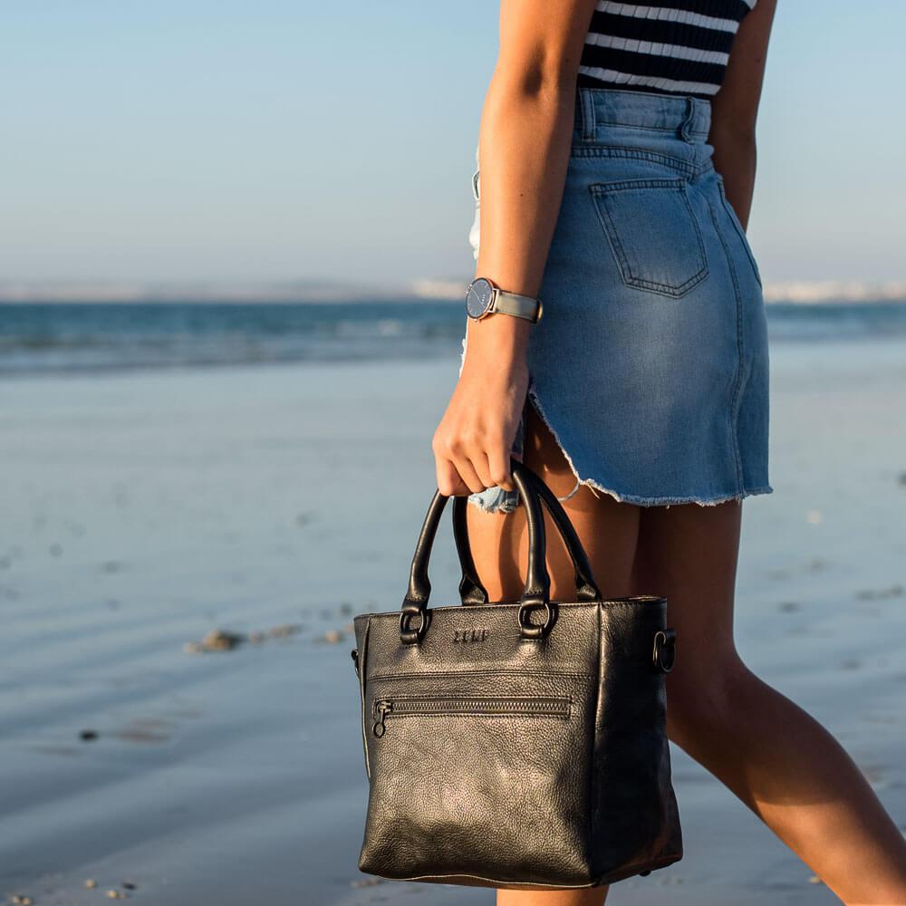 Paris Leather Handbag mood2