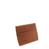 Genuine Leather Card Holder Toffee Tan
