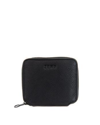 Genuine Leather Black Sofia