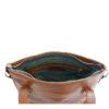 Genuine Leather Toffee Tan Handbag Venice