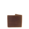 Wall Street Waxy Tan Genuine Leather Mens Wallet